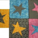 5 x 5 pointed stars