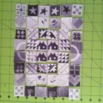 Helen's 2013 sampler blocks…