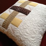 Woven Bars Pillow