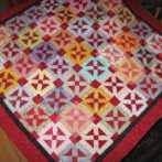 a finished quilt!
