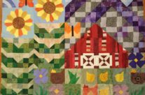 Old MacDonald Mystery Quilt Along flimsy completed