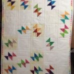 Fly, a baby quilt